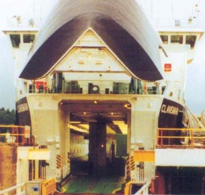Typical Bow Visor & Ramp - Inspection, Repair and Spares
